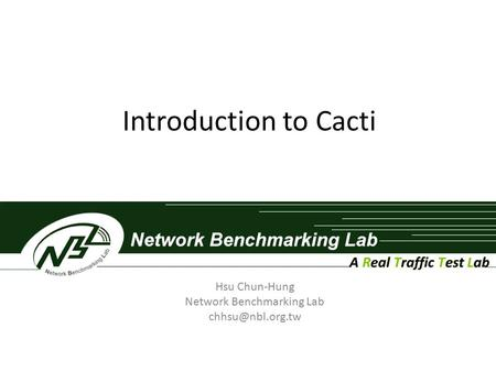 Hsu Chun-Hung Network Benchmarking Lab