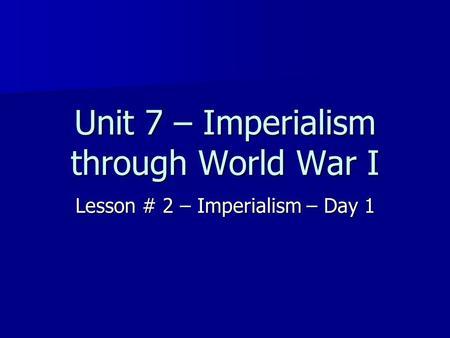 bock dissertation proton exchange Imperialism and World War I Essay t. r.