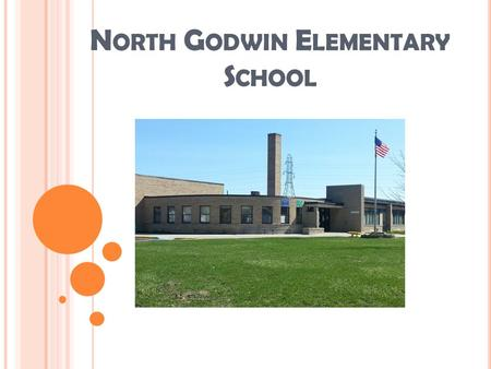 N ORTH G ODWIN E LEMENTARY S CHOOL. D EMOGRAPHIC I NFORMATION Total Number of Students (Kindergarten through 4 th Grade): 438 Ethnicity American Indian--.5%
