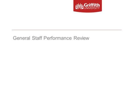 General Staff Performance Review. What are performance reviews?  Process of developing a shared understanding amongst employees and supervisors about.