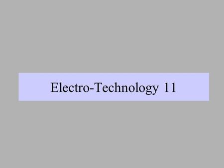 Electro-Technology 11 Canada First 1992 Robots East 1996.