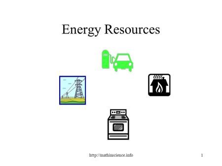 Energy Resources.  Renewable Resource A natural resource that can be replaced in nature almost as.