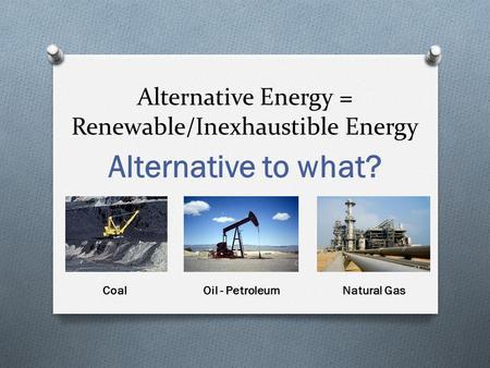 Alternative fuels essay