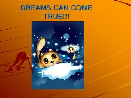 DREAMS CAN COME TRUE!!!. GRADE 8 OPTION SHEETS IT'S EASY….REALLY !!!!!
