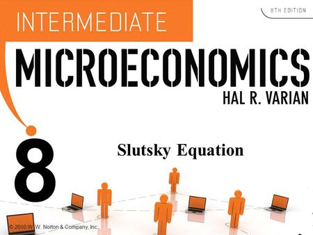 © 2010 W. W. Norton & Company, Inc. 8 Slutsky Equation.