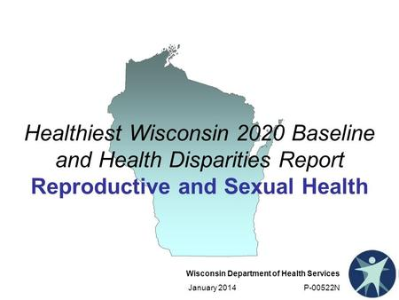 Wisconsin Department of Health Services January 2014 P-00522N Healthiest Wisconsin 2020 Baseline and Health Disparities Report Reproductive and Sexual.