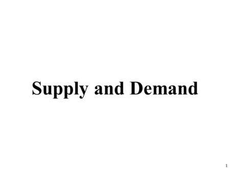 Supply and Demand 1. 2 3 DEMAND DEFINED What is Demand? Demand is the different quantities of goods that consumers are willing and able to buy at different.