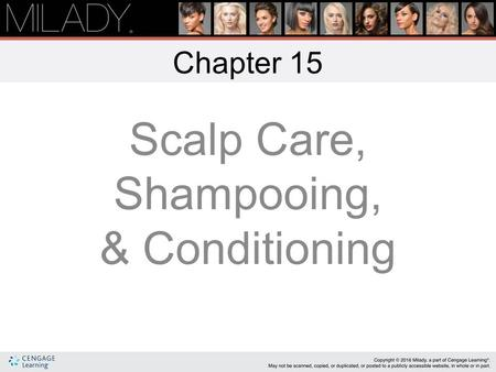 Scalp Care, Shampooing, & Conditioning