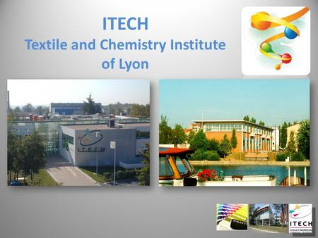 ITECH Textile and Chemistry Institute of Lyon. Chemical Engineering School Polymer Science & Applications Lyon (South-East France)