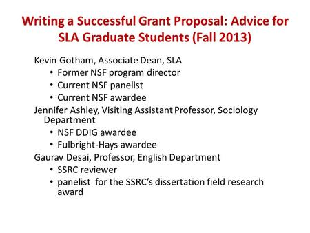 Dissertation Improvement Grant Nsf Sociology
