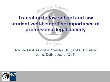 Rachael Field: Associate Professor (QUT) and ALTC Fellow
