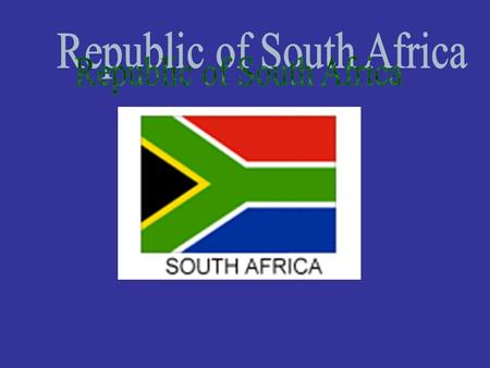 Where is South Africa? There are people from all over the world living in South Africa The estimated population of South Africa in October 2001 stood.