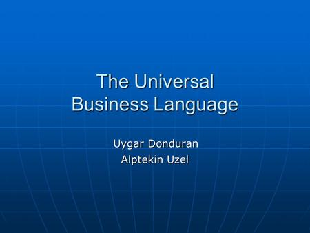 Universal Business Language  Wikipedia