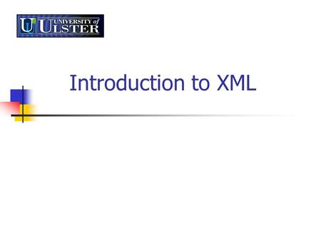Introduction to XML. XML - Connectivity is Key Need for customized page layout – e.g. filter to display only recent data Downloadable product comparisons.