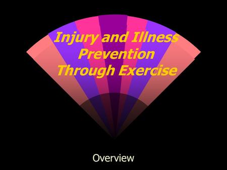 Injury and Illness Prevention Through Exercise Overview.