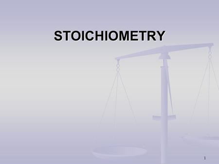 1 STOICHIOMETRY 2 General Approach For Problem Solving 1. Clearly identify the Goal or Goals and the UNITS involved. (starting and ending unit) 2. Determine.