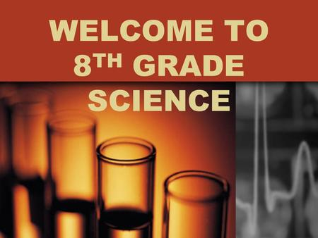 WELCOME TO 8 TH GRADE SCIENCE. Mrs. Karen Joshu 11 th Year at Altadena Middle School teaching 8 th grade science Education –Bachelor of Arts Degree, Fort.