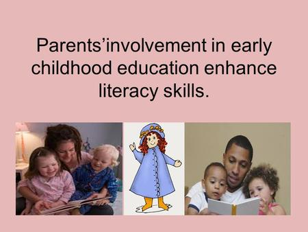 participation early education Early childhood programs: from home visiting to kindergarten   in early  childhood education may reduce involvement with the criminal justice system.