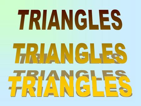 A triangle can be classified by _________ and __________. sidesangles There are four ways to classify triangles by angles. They are Equiangular Acute.