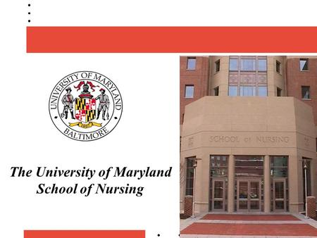 The University of Maryland School of Nursing. Serving the Needs of Western Maryland: Access to Care Challenges to, Resources for, and Threats Facing the.