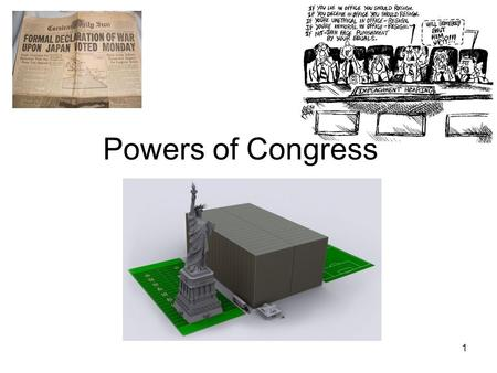 Powers of Congress.