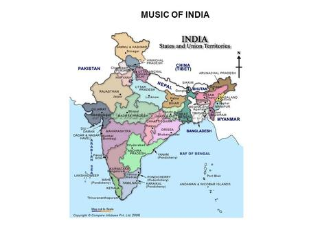 MUSIC OF INDIA. BASIC FACTS: –South Asia –2 nd most populous country in world –Birthplace of 4 major religions (Hinduism, Buddhism, Jainism, Sikhism)