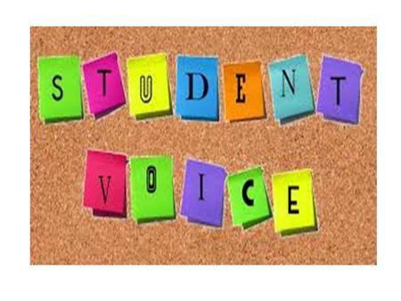"MOVING FORWARD WITH STUDENT VOICE ""Why Student Voice matters?"""