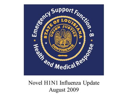 Novel H1N1 Influenza Update August 2009. What did we learn from the Spring 2000 H1N1 experience? How will the Fall flu season differ from Spring 2009.