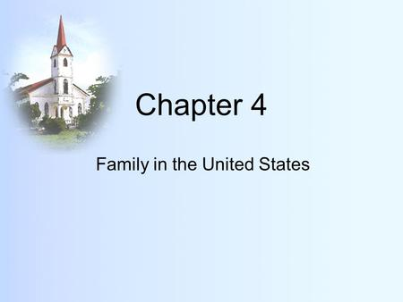 Family in the United States