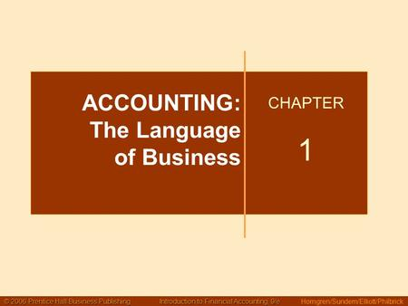 Ppt On Financial Statement Of Sole Proprietorship