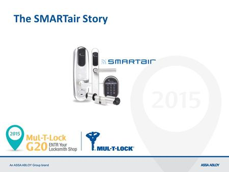 The SMARTair Story 1 This is not a presentation about what SMARTair is… 2 What is SMARTair???