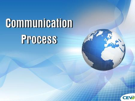 Communication Process. Transactional Communication Model 2.