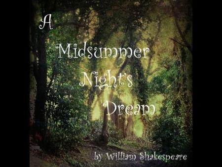 puck a midsummer night s dream essay