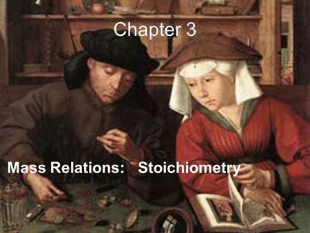 Chapter 3 Mass Relations: Stoichiometry. Atomic number # of p + in nucleus.