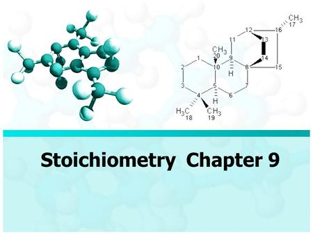 Stoichiometry Chapter 9. Step 1 Balance equations and calculate Formula Mass (FM) for each reactant and product. Example: Tin (II) fluoride, SnF 2, is.