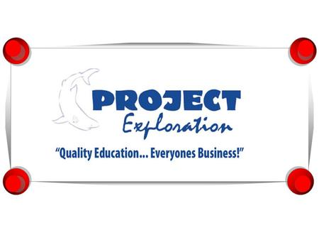 2 What is Project Exploration?  Founded in 1977, Project Exploration, Inc., has safely taken several generations of students on educational field trips.