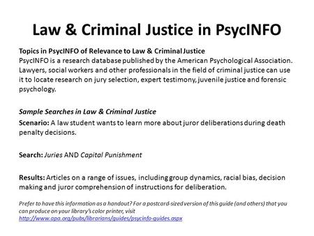 Buy criminal justice research paper examples