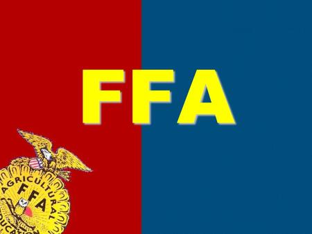 FFA. 1917 – Smith Hughes Act – The federal government allocated money to start vocational agriculture classes 1928 – Future Farmers of America was established.