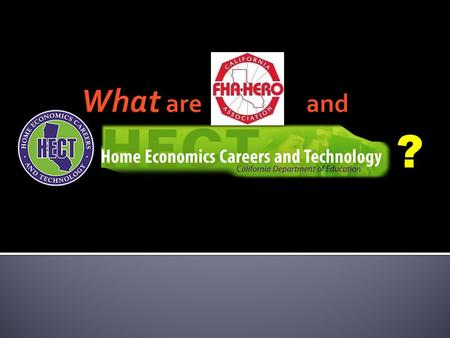 ?.  Home Economics Careers and Technology  California Department of Education based curriculum for courses preparing students 6-12 grade with career.