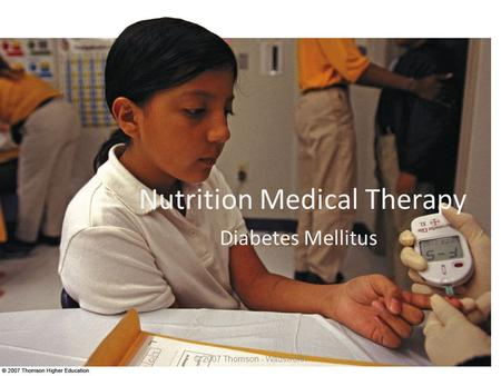 Nutrition Medical Therapy