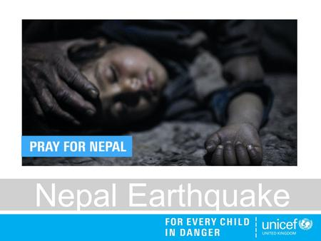 Nepal Earthquake. A deadly earthquake has hit Nepal, it's worst in over 80 years. More than 5,000 people are reported to have died and 50,000 are injured.