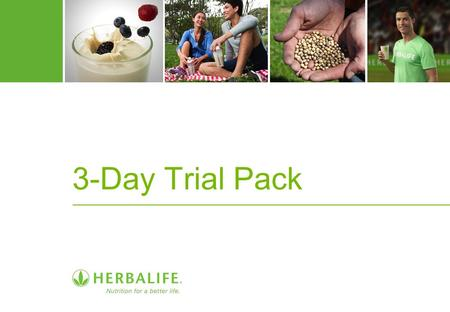 3-Day Trial Pack.