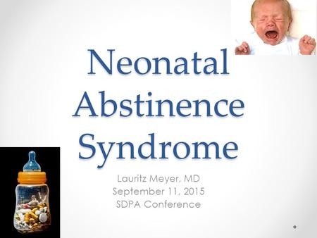 neonatal abstinence syndrome treatment guidelines