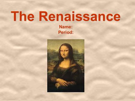 the changes in italy during the renaissance period