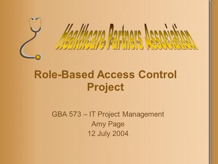 Role-Based Access Control Project