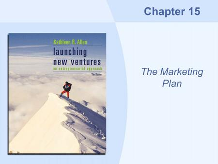 Chapter 15 The Marketing Plan. Copyright © Houghton Mifflin Company15-2 Overview Relationship marketing The marketing plan Product/service promotion Online.