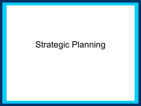 Strategic Planning. Citizens Bank Case Marketing Challenges –Minimize customer attrition to under 10% –Build awareness of Citizen Bank –Reduce customers'