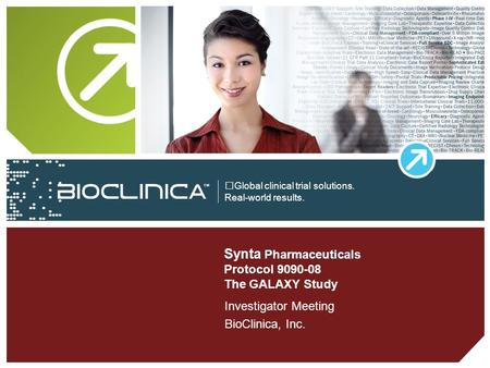 Synta Pharmaceuticals Protocol The GALAXY Study