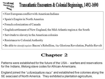 First European conflict with American Indians First European conflict with American Indians Spain's Empire in North America Spain's Empire in North America.