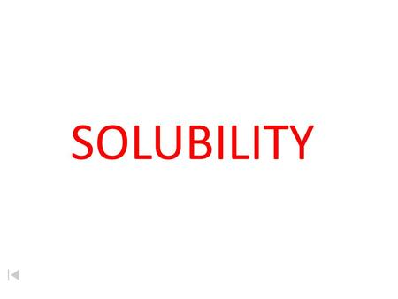 SOLUBILITY. Solubility Solubility how many grams of solute that will dissolve in 100 g of solvent to make it saturated at a given temperature.